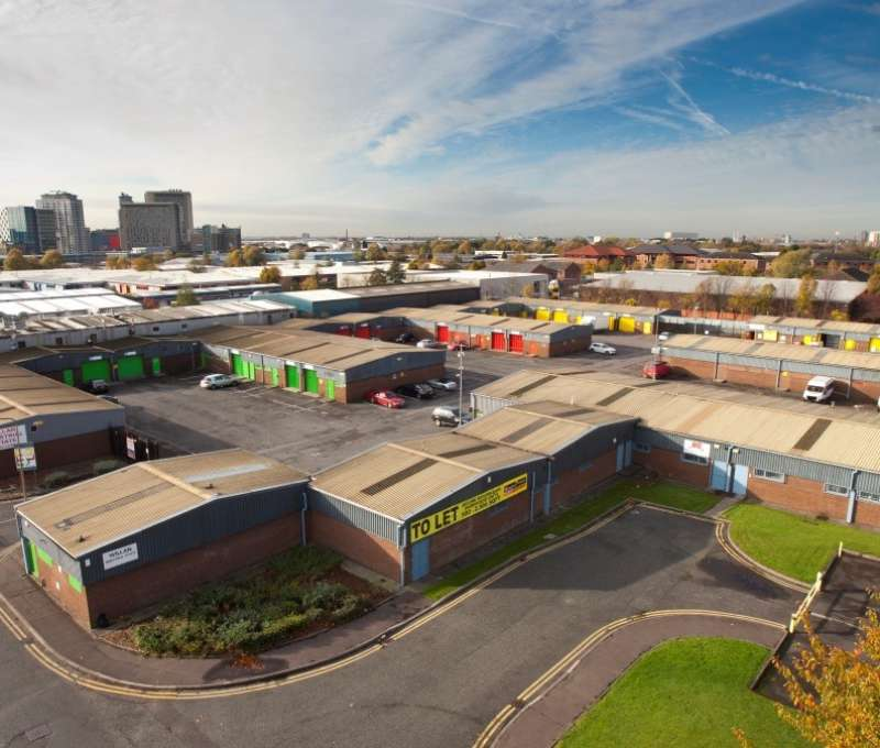 Ongoing disposal of industrial units in Salford for SR Properties Ltd